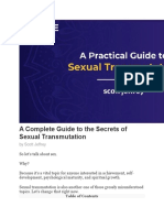 A Complete Guide to the Secrets of Sexual Transmutation