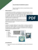 Determinación de porcentaje humedad de la quinua.docx