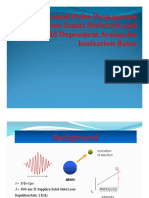 femto-second pulse propagation through non linear dielectric