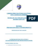 Preparación Física I- j.c.anselmi