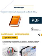 Métodos e Instrumentos de Análisis de Datos