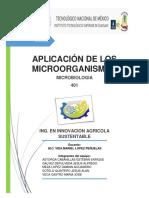 Aplicacion de Los Microorganismos