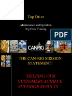 354882780 2 Canrig Top Drive Rig Crew Training