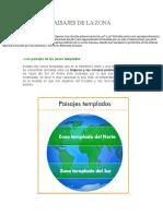 Climas y Paisajes de La Zona Templada