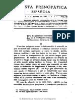 Revista Frenopática Española. 8-1907