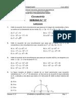GEOMETRÍA-SEMANA N° 17-ORDINARIO 2019-I