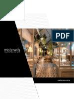 Mister Wils Catalogo PDF Mobiliario