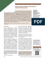 Bhramari Pranayama in Chronic Rhinosinusitis