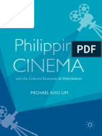Michael Kho Lim - Philippine Cinema and the Cultural Economy of Distribution-Springer International Publishing,Palgrave Macmillan (2019)