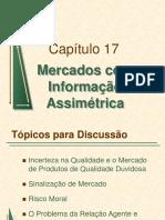 Mercados com Informações Assimétrica
