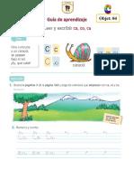 Guía de Aprendizaje c