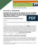 Documento Sistema de Compensaciones (Salarios)