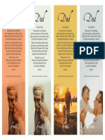 Fathers Day - Bookmarks