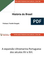 Historia do Brasil - slides