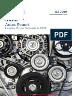 India Autos Report - Q2 2019