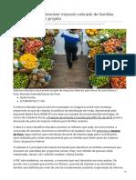 2019_AGO. PEC 45 - Reforma Propõe Devolver Imposto Cobrado de Famílias Pobres