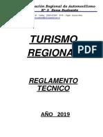 Reglamento Técnico TR - 2019