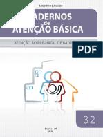 Material de Apoio Cadernos Atencao Basica 32 Prenatal 1