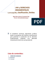 02 Concepto, Limites Derechos Fundamentales