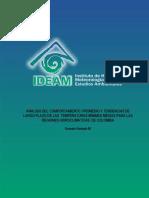 analisis comportamiento heladas ideam colombia