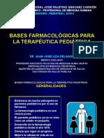 Bases Farmacológicas Para La Terapéutica Pediátrica