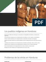 Situación de Razas y Etnias Honduras