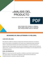 Analisis Del Producto