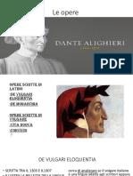 Le Opere Di Dante