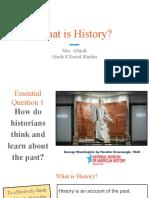 historical thinking lesson