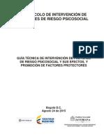 guía de prevención factores psicosociales en el trabajo