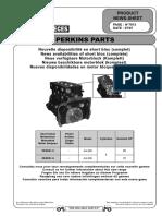 Partes motores perkins