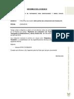 informe de practica de campo de Lotización con Teodolito