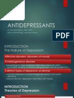 Antidepressant Juli 2016