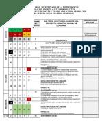 DOSIFICACION 2° CICLO 19-20.docx