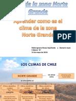Apreender Clima de La Zona Norte Grande Chile 5 Basico