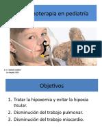 OXIGENOTERAPIA PEDIATRIA