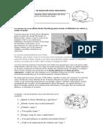 Guía Sumativa de Desarrollo Texto Informativo 6b Jueves