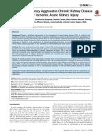 Vitamin D Deficiency Aggravates Chronic Kidney Disease