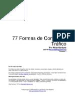 77 Formas de conseguir tráfico Web