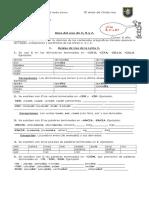 guia del uso de la c,s y z para sexto básico
