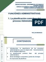La Planificación como Fase del Proceso Administrativo