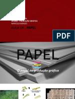 Des060 Prod Grafica - Aula 09 - Papeis