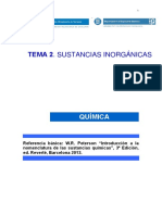 Tema 2. Sustancias Inorgánicas Cast15-16