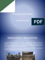 TITULOS VALORES 2