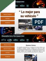 Presentación Empresa Automotriz