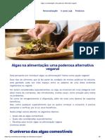 Algas Na Alimentação_ Uma Poderosa Alternativa Vegana