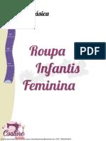 Molde Basico Roupas Infatis Feminina