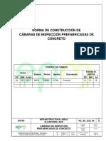 NC as IL02 06 Camaras de Inspeccion Prefabricadas de Concreto