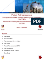 GAPENRI-GAPENRI (Speaker Bambang Suseno - Willis Towers Watson)-GAPENRI - APARI - Project Risk Management