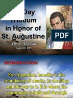 Augustinian Prayer
